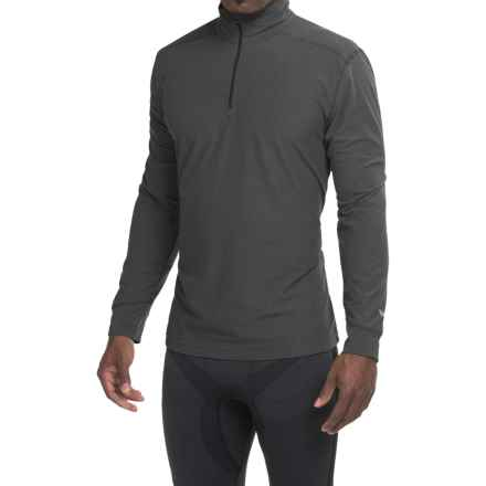 White Sierra Sierra Ridge Stripe Shirt - Zip Neck, Long Sleeve (For Men) in Black - Closeouts
