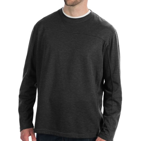 White Sierra Sierra Ridge T-Shirt - Long Sleeve (For Men) in Moss Heather