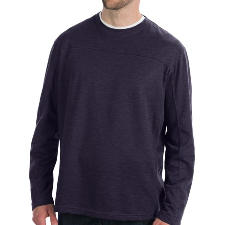 White Sierra Sierra Ridge T-Shirt - Long Sleeve (For Men) in Charcoal Heather