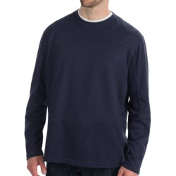 White Sierra Sierra Ridge T-Shirt - Long Sleeve (For Men) in Navy