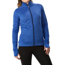 White Sierra Sierra Stretch Fleece Jacket (For Women) in Ice Blue - Closeouts