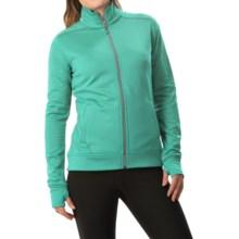 White Sierra Sierra Stretch Fleece Jacket (For Women) in Mint - Closeouts