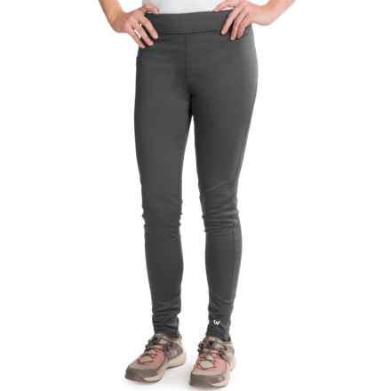 White Sierra Sierra Stretch Leggings (For Women) in Asphalt - Closeouts