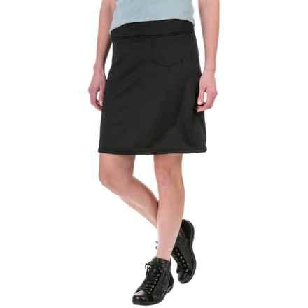 White Sierra Sierra Stretch Skirt (For Women) in Black - Closeouts