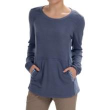 White Sierra Sierra Stripe Crew Neck Sweater (For Women) in Blue Indigo - Closeouts