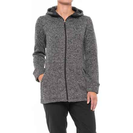 White Sierra Sierra Sweater Fleece Hoodie (For Women) in Charcoal Heather - Closeouts