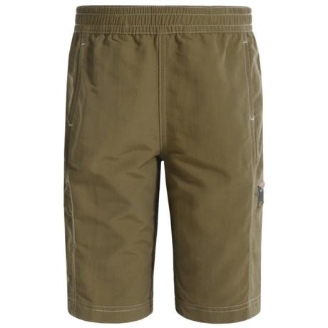 White Sierra Sierra Trail Shorts - UPF 30 (For Little and Big Boys)