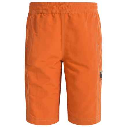 White Sierra Sierra Trail Shorts - UPF 30 (For Little and Big Boys) in Burnt Orange - Closeouts