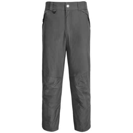 White Sierra Ski Pants - Insulated (For Big Men) in Asphalt - Closeouts