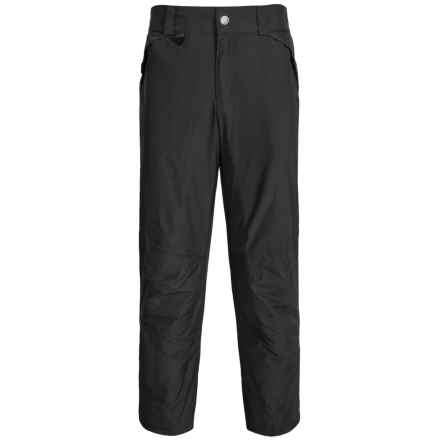 White Sierra Ski Pants - Insulated (For Big Men) in Black - Closeouts