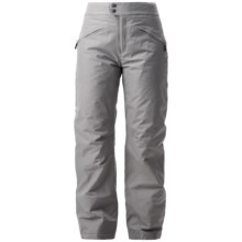 White Sierra Slider Ski Pants - Insulated, (For Women) in Sleet Grey - Closeouts