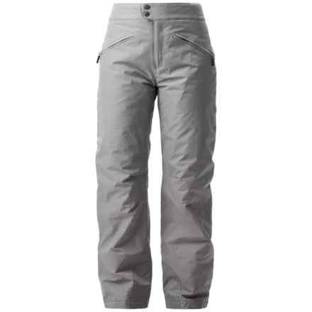 White Sierra Slider Ski Pants - Insulated, (For Women) in Sleet Grey - Closeouts