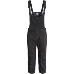 White Sierra Snowsport Bib Overalls - Insulated (For Men) in Black