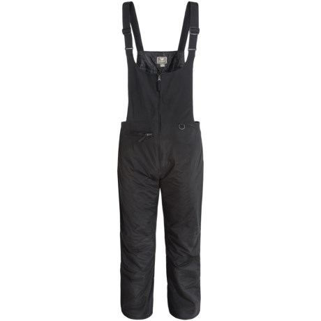 White Sierra Insulated Bib Overall
