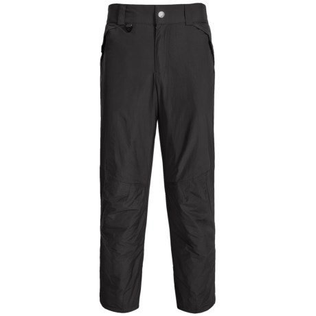 White Sierra Snowsport Pants - Insulated (For Men) in Caviar