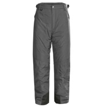 White Sierra Snowsport Pants - Insulated (For Men) in Caviar - Closeouts