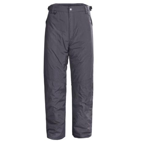 White Sierra Snowsport Pants - Insulated (For Men) in Titanium