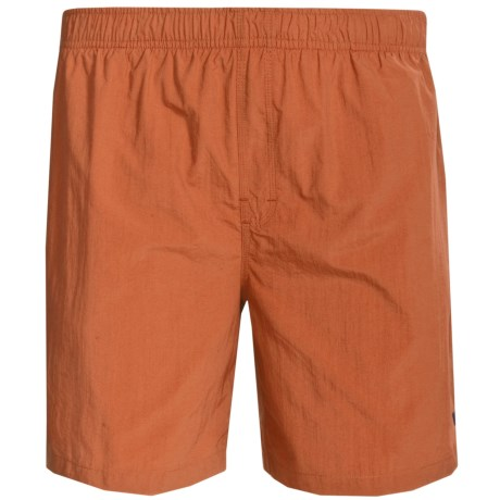 White Sierra So Cal Shorts - UPF 30, Inner Brief (For Men) in Rust