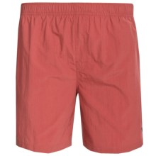 White Sierra So Cal Swim Shorts - UPF 30, Inner Brief (For Men) in Paprika - Closeouts