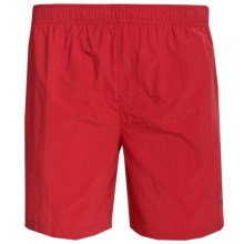 White Sierra So Cal Swim Shorts - UPF 30, Inner Brief (For Men) in Red - Closeouts