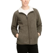 White Sierra Soda Springs Jacket - Fleece (For Women) in Cigar - Closeouts