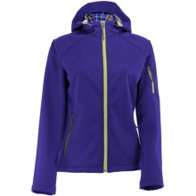 White Sierra South Shore Jacket - Soft Shell (For Women) in Blue Berry - Closeouts