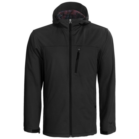 White Sierra South Shore Soft Shell Jacket (For Men) in Breen
