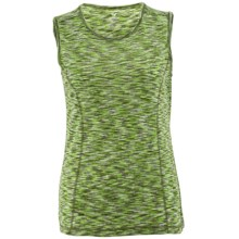 White Sierra Space Dye Tank Top (For Women) in New Sage - Closeouts