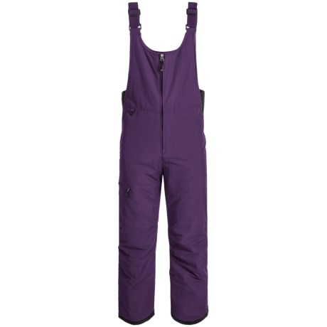 White Sierra Squaw Valley Snow Bibs - Insulated (For Women) in Nightshade
