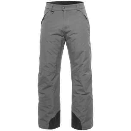White Sierra Squaw Valley Snow Pants - Insulated (For Men) in Caviar - Closeouts
