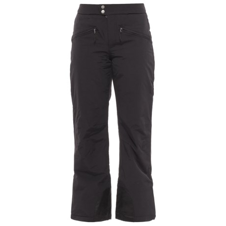 White Sierra Squaw Valley Snow Pants - Insulated (For Women) in Black