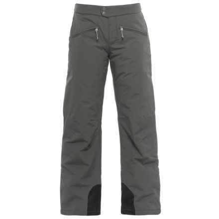 White Sierra Squaw Valley Snow Pants - Insulated (For Women) in Caviar - Closeouts
