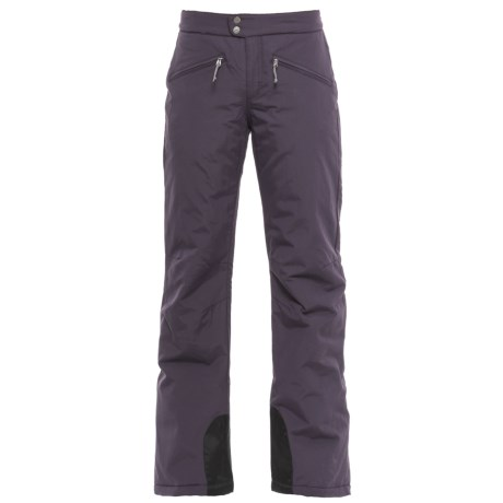 White Sierra Squaw Valley Snow Pants - Insulated (For Women) in Nightshade
