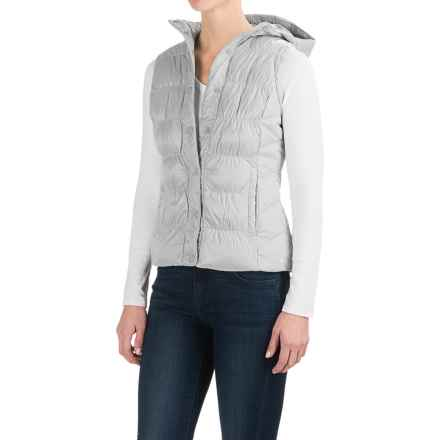 White Sierra St. Helens Hooded Vest - Insulated (For Women) in Black - Closeouts