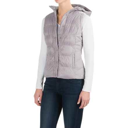 White Sierra St. Helens Hooded Vest - Insulated (For Women) in Deep Purple - Closeouts