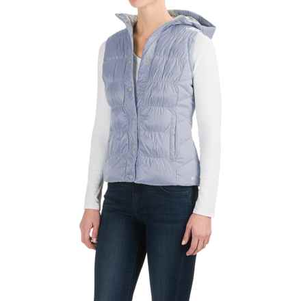 White Sierra St. Helens Hooded Vest - Insulated (For Women) in Ice Blue - Closeouts