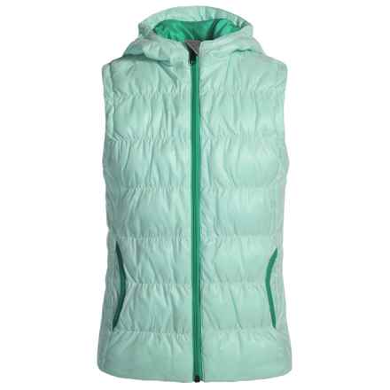 White Sierra St. Helen's Vest - Insulated (For Little and Big Girls) in Mint - Closeouts