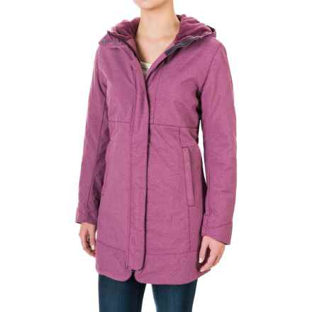White Sierra Sugarloaf Long Jacket - Insulated (For Women) in Crushed Grape - Closeouts