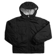 White Sierra Summit Jr. Jacket - Insulated (For Girls) in Black - Closeouts