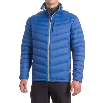 White Sierra Summit Ripstop Jacket - Insulated (For Men) in Shield Blue - Closeouts