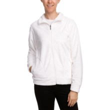 White Sierra Susan Jacket - Fleece (For Women) in White - Closeouts