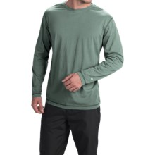 White Sierra Swamp T-Shirt - Insect Shield®, Long Sleeve (For Men) in Balsam Green - Closeouts