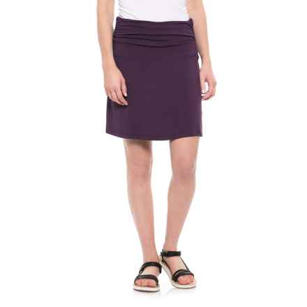 White Sierra Tangier Skirt - Stretch Rayon (For Women) in Shadow Purple - Closeouts