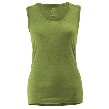 White Sierra Taroko Tank - Sleeveless (For Women) in Heather Greenery