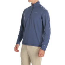 White Sierra Techno Shirt - UPF 30, Zip Neck, Long Sleeve (For Men) in Blue Indigo - Closeouts