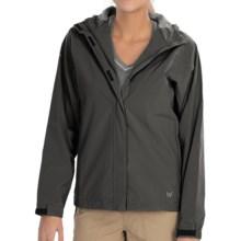 White Sierra Tempest Tek Jacket - Waterproof (For Women) in Caviar - Closeouts