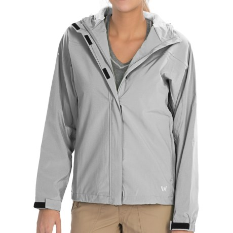 White Sierra Tempest Tek Jacket - Waterproof (For Women) in Glacier