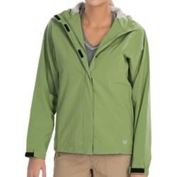 White Sierra Tempest Tek Jacket - Waterproof (For Women) in Jade Green
