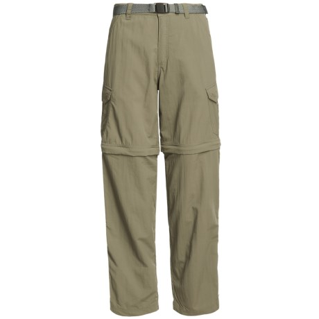 White Sierra Teton Convertible Trail Pants - UPF 30, Zip-Off Legs (For Women) in New Sage