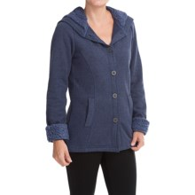 White Sierra Three Creeks Hooded Jacket (For Women) in Blue Indigo/Blue Indigo - Closeouts